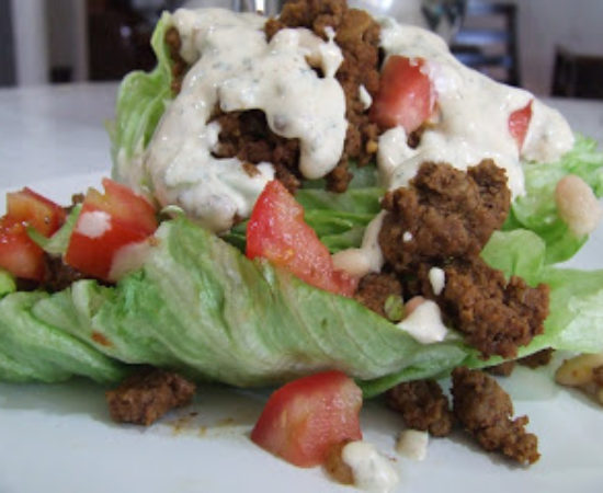 Wedge Taco Salad And Homemade Taco Seasoning Recipe {Paleo, Gluten, & Dairy Free}