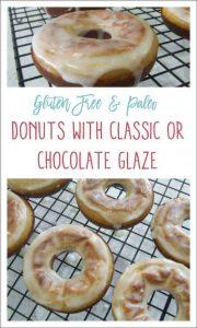 paleo donuts pinnable image