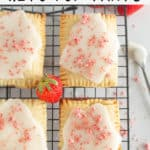 pinnable image of keto pop tarts