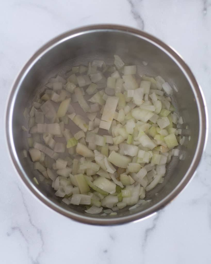 sautéed onions in instant pot
