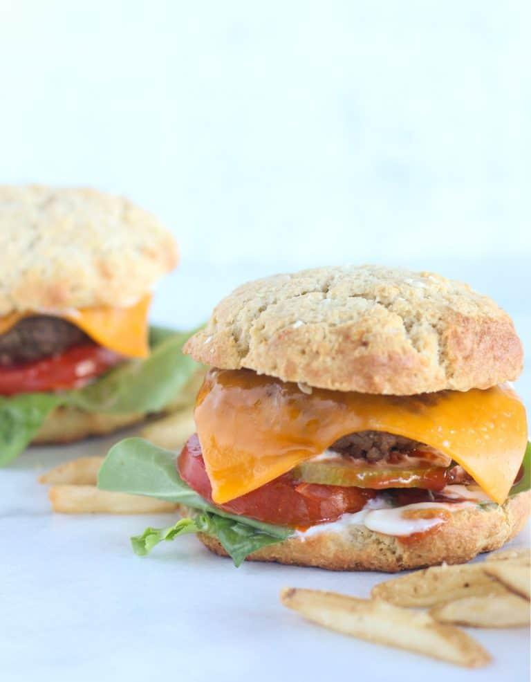 Paleo Hamburger Buns - Main Picture