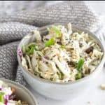 paleo coleslaw pinnable image