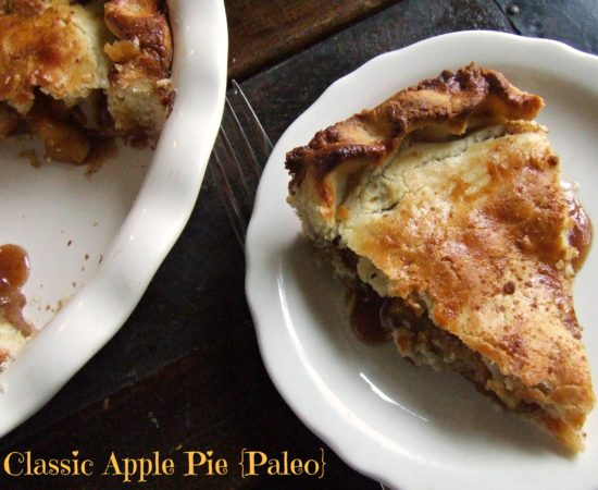 Classic Apple Pie {Paleo}