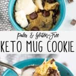 pin image of mug cookie