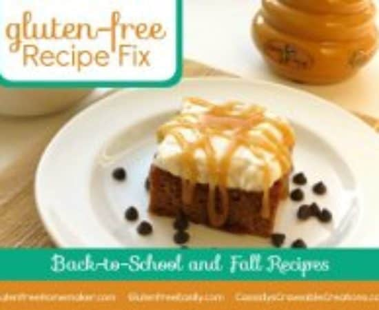 Gluten Free Recipe Fix Carnival: Back-To-School and Fall Recipes