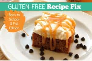 Gluten Free Recipe Fix – Back To School And Fall Edition