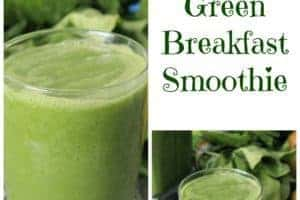 Ultimate Green Breakfast Smoothie