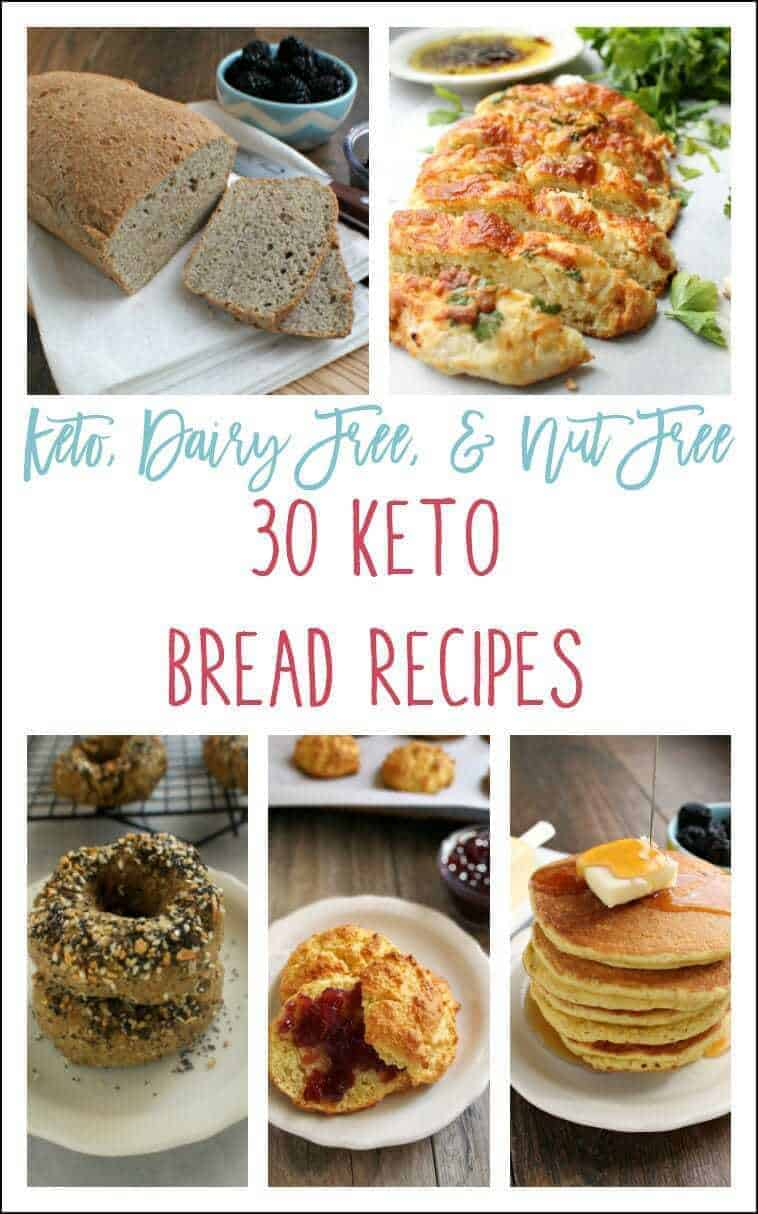 Keto Breads Collage