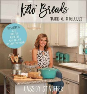 keto breads cookbook cover