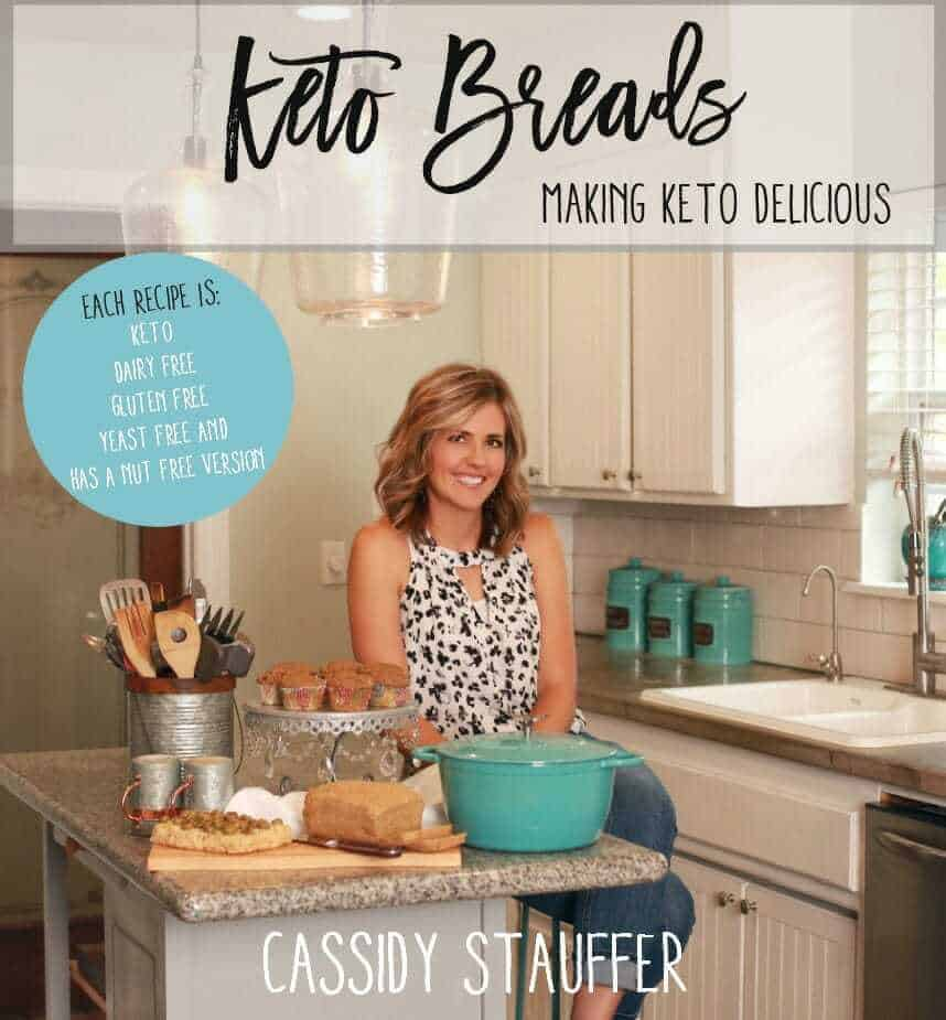 Click The Image Below To Check Out My New Keto Breads Cookbook!!!