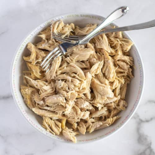 Perfectly Cooked Shredded Chicken In The Instant Pot Or Oven