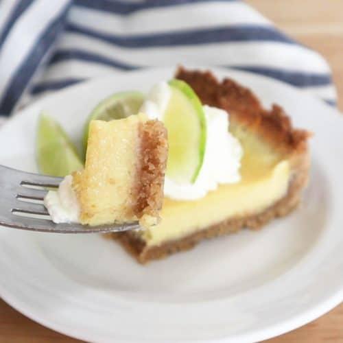Dairy Free & Keto Key Lime Pie