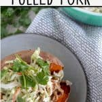 pinnable image of paleo and whole30 pulled pork