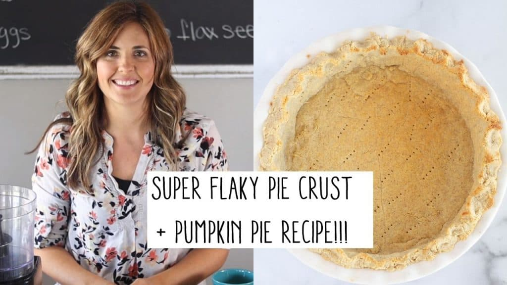 YouTube thumbnail picture of pie crust