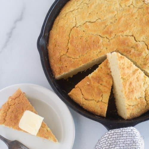 Low-Carb Keto Cornbread Recipe