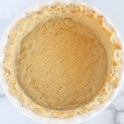 prebaked pie crust