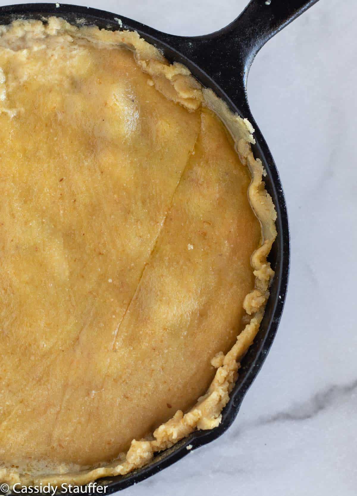 unbaked chicken pot pie