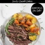 pinnable image of keto pot roast with text