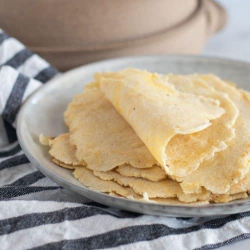 Keto Tortilla Recipe {Almond Flour} Soft & Flexible!