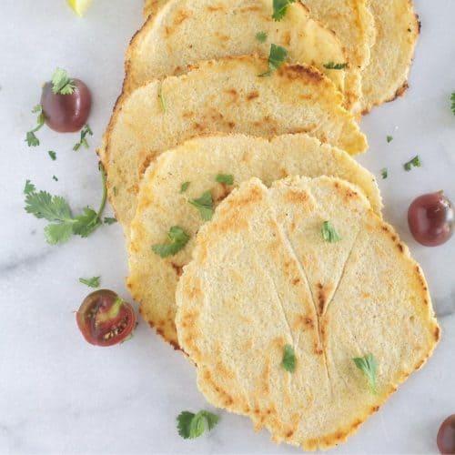 tortillas on countertop
