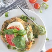 Keto Pesto Chicken {Paleo & Whole30 Options!}